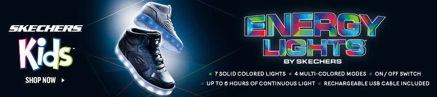 Skechers Energy Lights. Shop Now.
