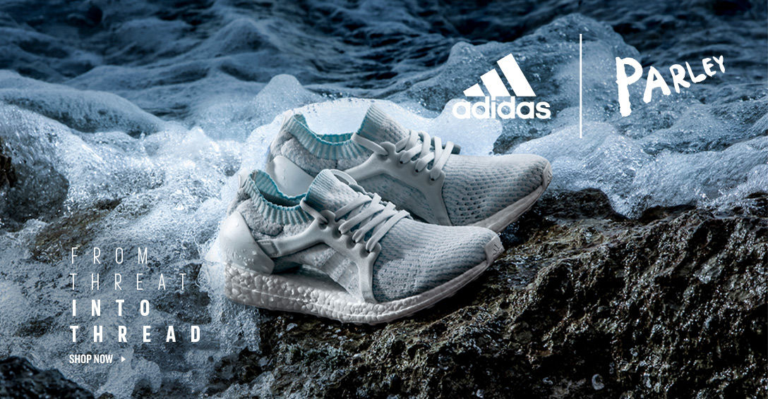 adidas Parley. Shop Now.
