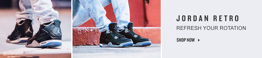 Refresh Your Retro Jordans. Shop Now.