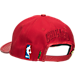 Alternate view of Pro Standard Chicago Bulls NBA Logo Adjustable Hat in Red