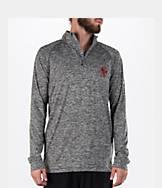 Men's Under Armour Boston College Eagles College Tech Quarter-Zip Poly Shirt