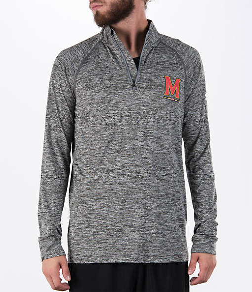 Men's Under Armour Maryland Terrapins College Tech Quarter-Zip Poly Shirt