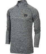 Men's Under Armour Notre Dame Fighting Irish College Twist Tech 1/4-Zip Shirt