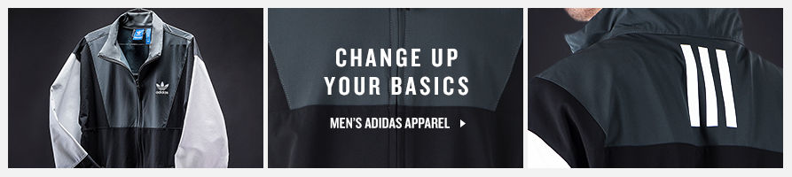 Change up your basics. Shop Men's adidas Apparel.