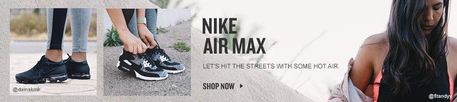 Women's Air Max. Shop Now.