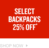 Backpacks 25% Off. Shop Now.