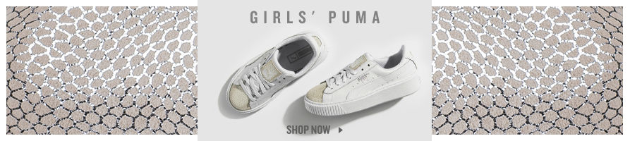 Girls' Puma Basket. Shop Now.