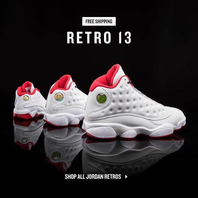 Jordan Retros. Shop Now.