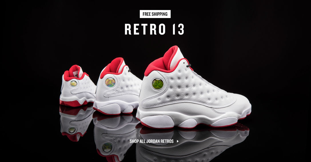 Jordan Retro 13. Shop Now.