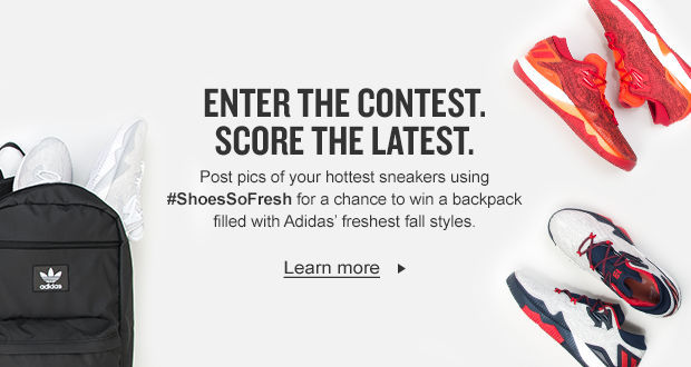 Use #ShoesSoFresh to tag your best pics of the season for a chance to win a Backpack filled with the hottest Back to School Styles.