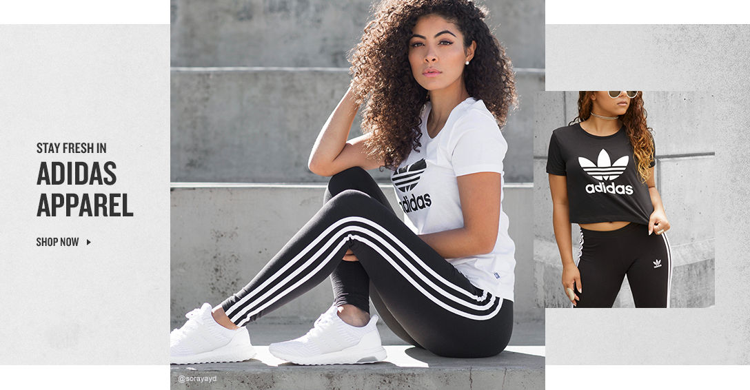 adidas Apparel. Shop Now.