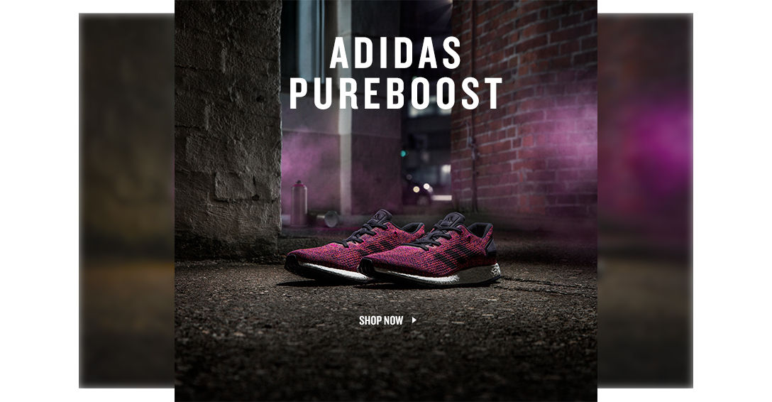 adidas Pureboost. Shop Now.