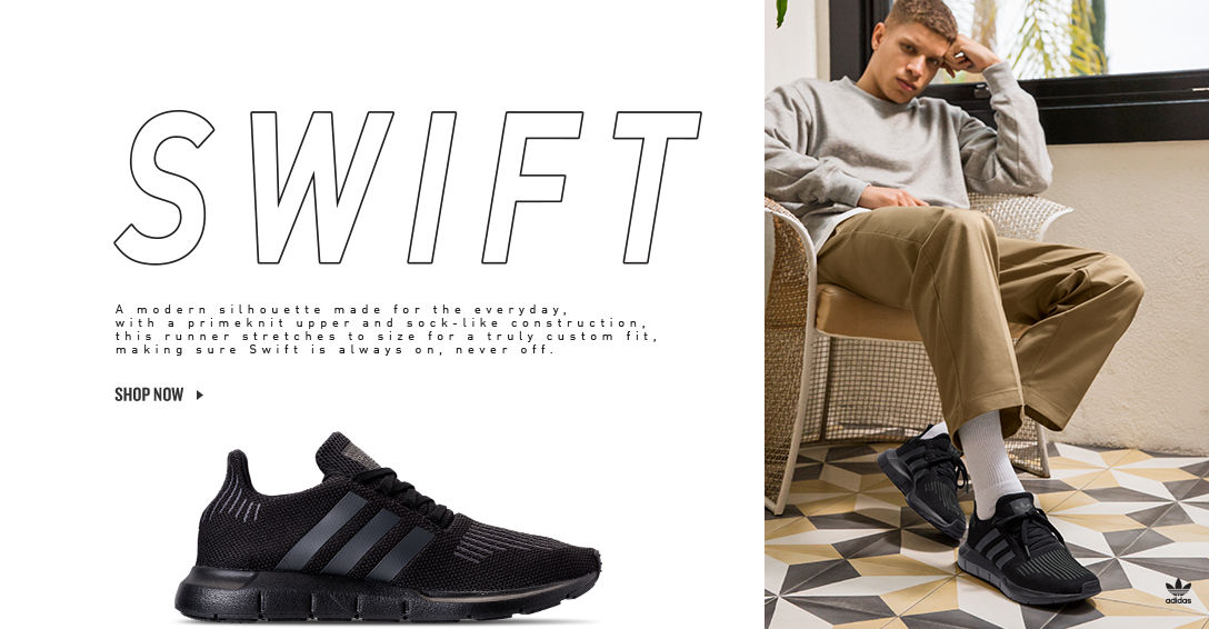 adidas Swift Run. Shop Now.
