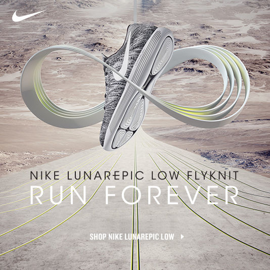 Nike LunarEpic Flyknit. Shop Now