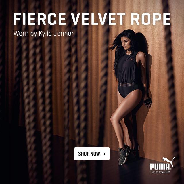 PUMA Fierce Velvet Rope. Shop Now.