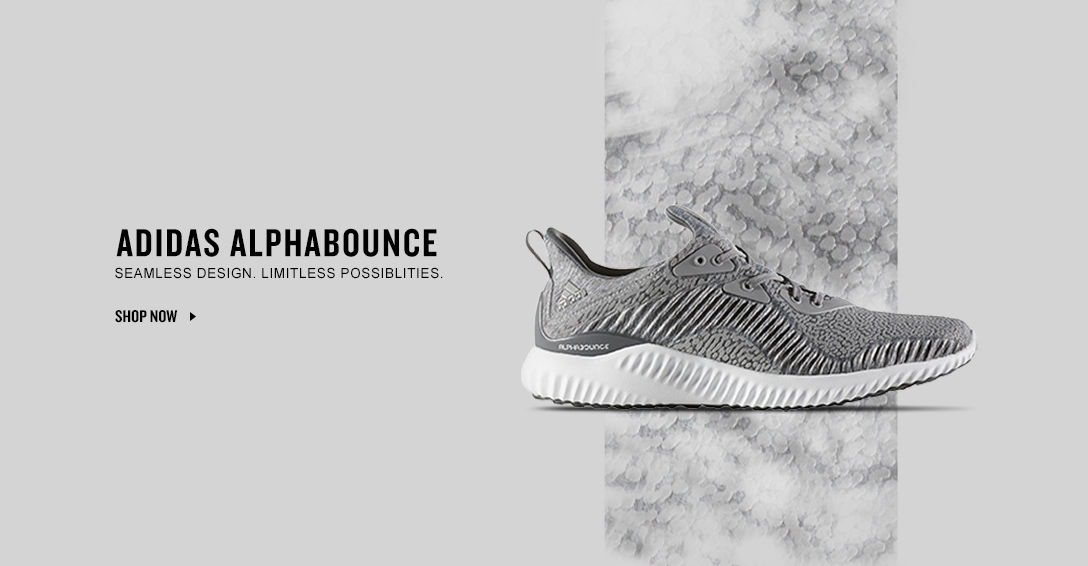 adidas AlphaBounce. Shop Now.