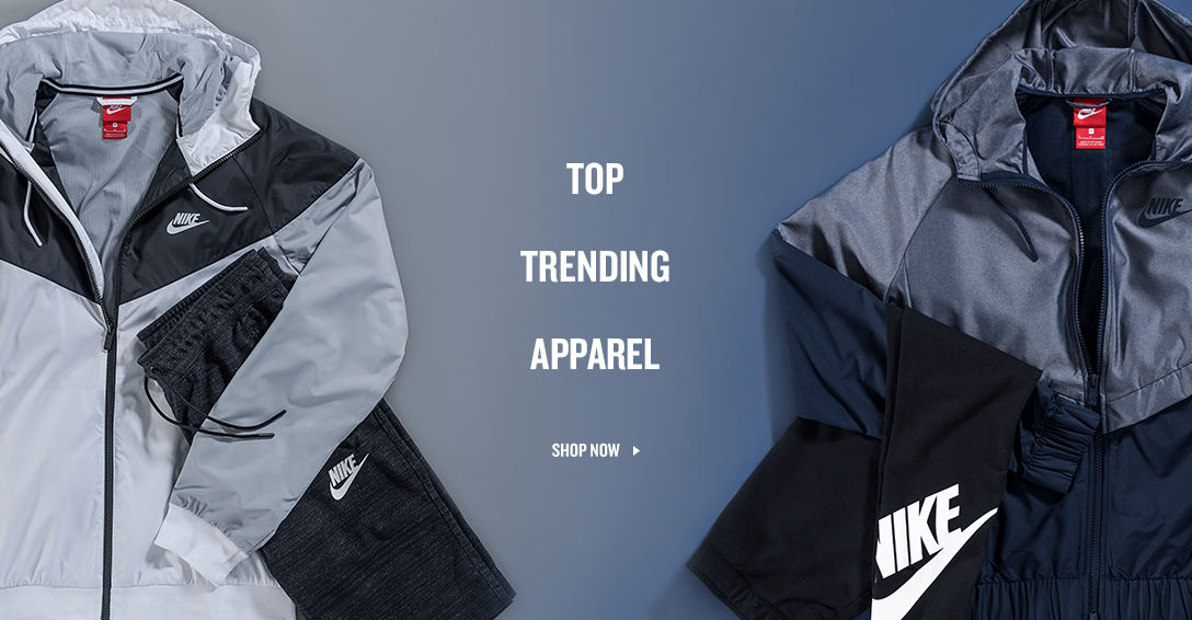 Top Trending Apparel. Shop Now.