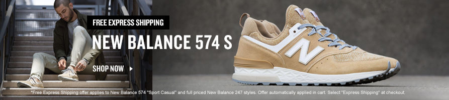 Free Express Shipping On Select New Balance Styles.
