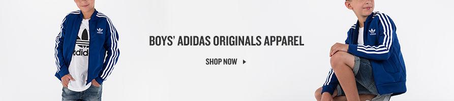 adidas Originals Apparel for Boys. Shop Now.