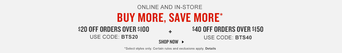 Buy More Save More. Shop Now.