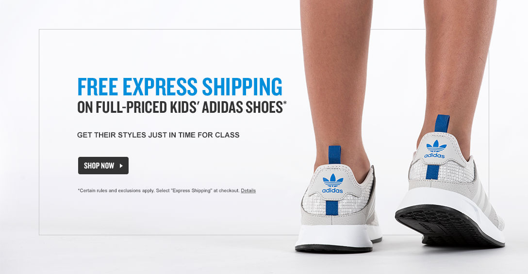 Kids adidas Free Express Shipping. Shop Now.