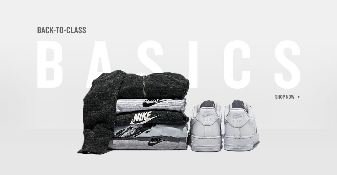 Black and White Basics. Shop Now.