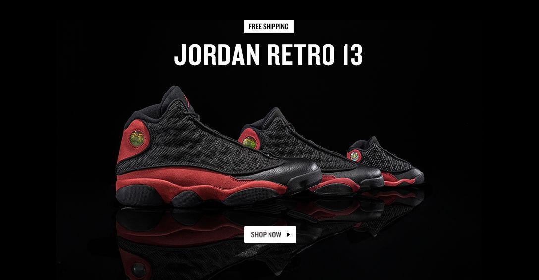 Jordan Retro 13. Shop Now.