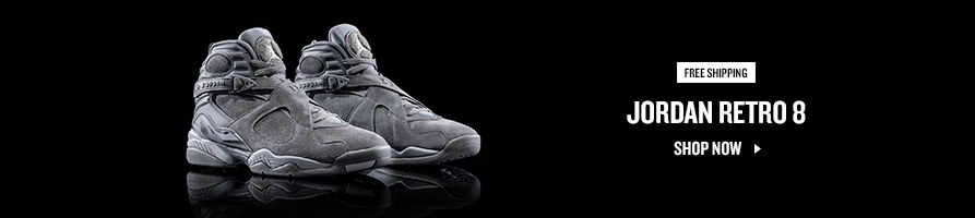 Jordan Retro 8. Shop Now.