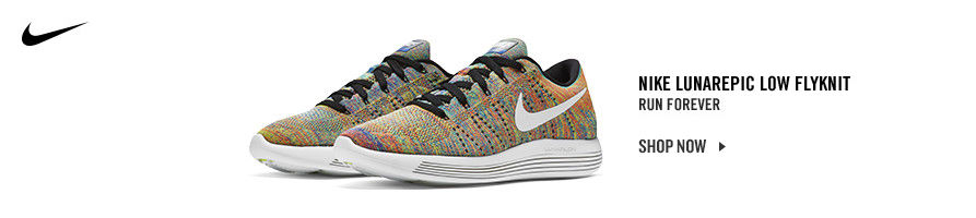 Nike LunarEpic Fyknit. Shop Now.