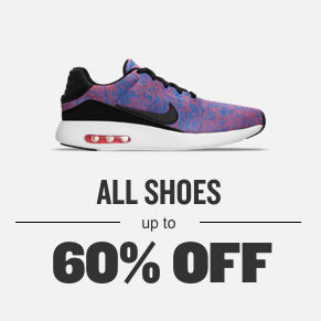 All Shoes Up To 60% Off