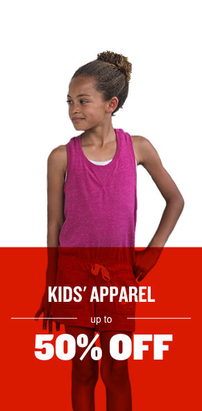 Kids' Apparel Up To 50% Off