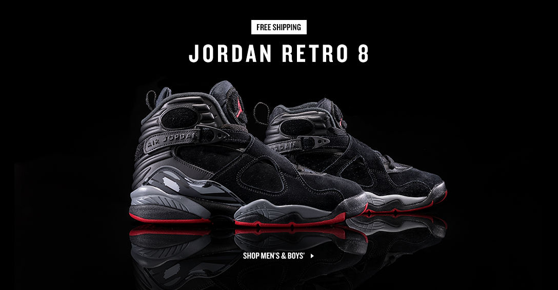 Jordan Retro 8. Shop Now.