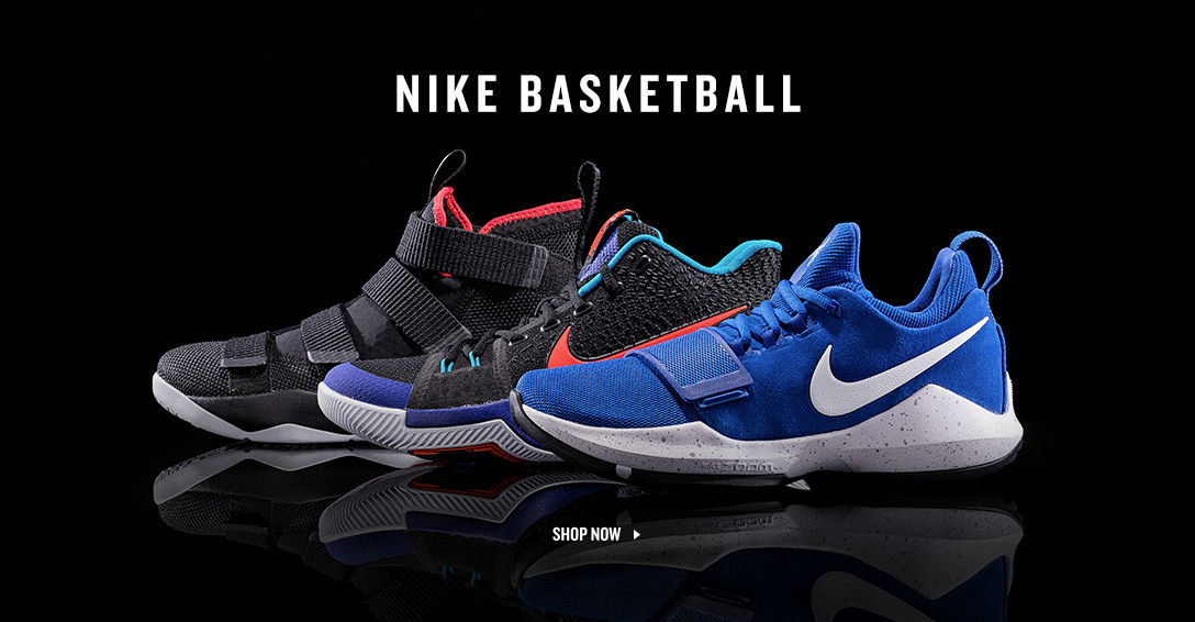 Nike Basketball featuring PG1. Shop Now.
