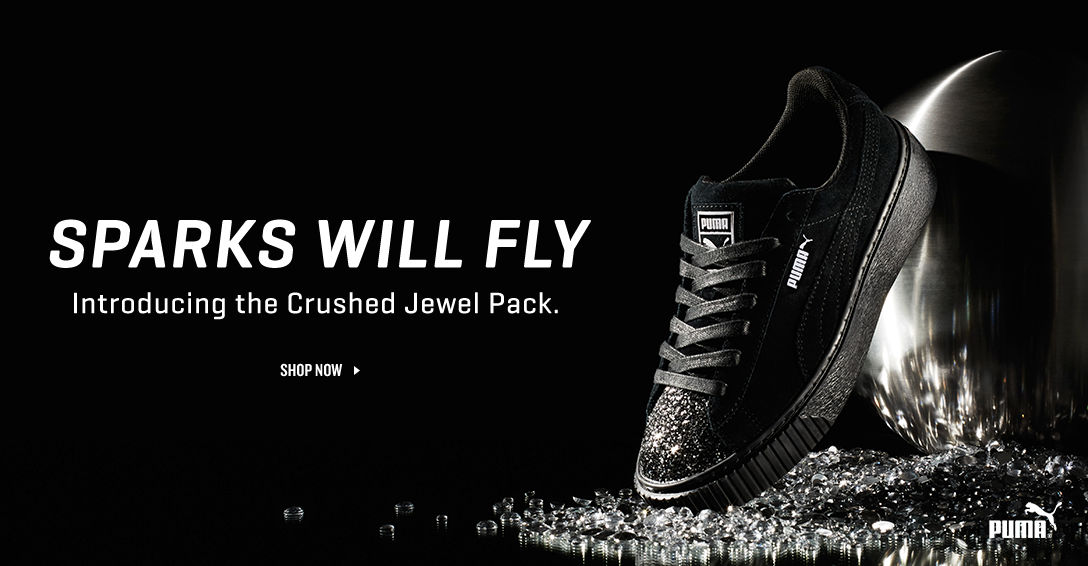 PUMA Crushed Jewel Pack. Shop Now.