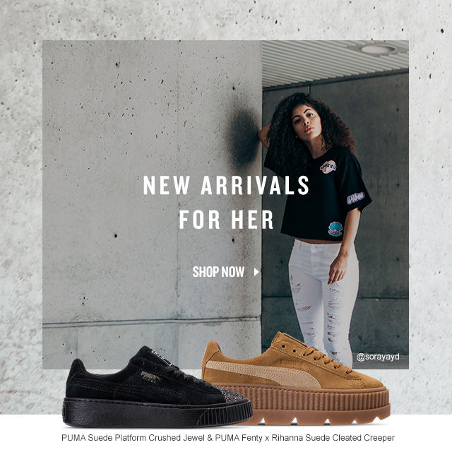 New Arrivals For Her. Shop Now.