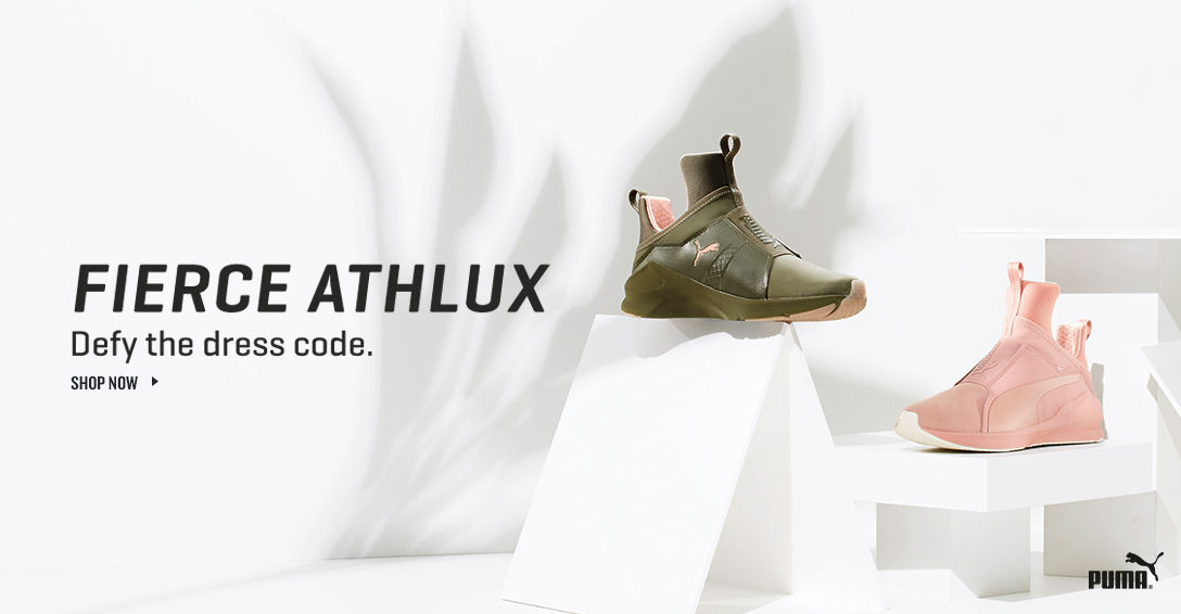 PUMA Fierce Athlux. Shop Now.