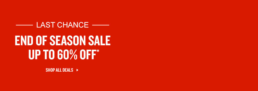 End of Season Sale. Shop Now.