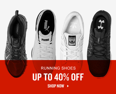 Up To 40% Off Running Shoes. Shop Now.