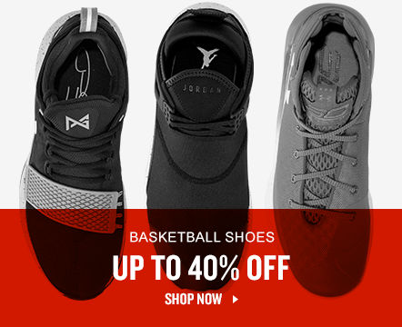 Up To 40% Off Basketball Shoes. Shop Now.