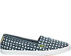 Girls' Grade School Lacoste Marice Polka Dot Casual Shoes