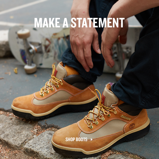 Make A Statement. Shop Boots.