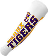 T-Shirt International LSU Tigers College Fan Sleeves - 2 Pack