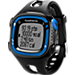 Front view of Garmin Forerunner 15 GPS Fitness Monitor Watch in Black/Blue