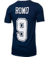 Men's Nike Dallas Cowboys NFL Tony Romo Name and Number T-Shirt