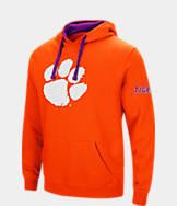 Men's Stadium Clemson Tigers College Big Logo Hoodie