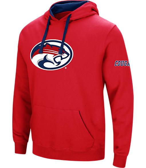 Men's Stadium Houston Cougars College Big Logo Hoodie