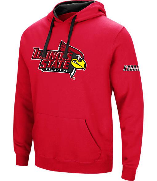 Men's Stadium Illinois State Redbirds College Big Logo Hoodie