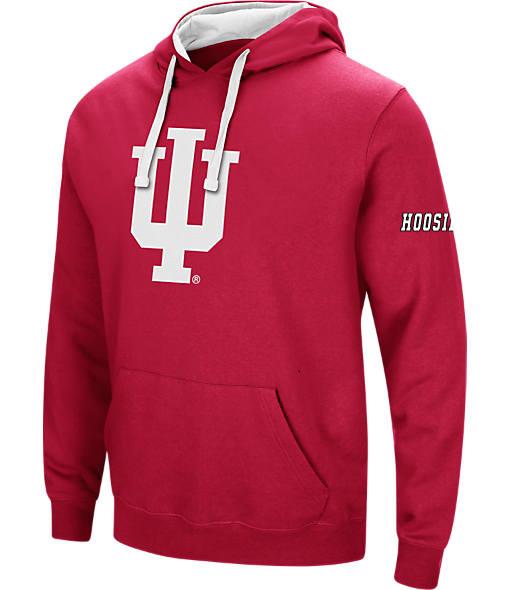 Men's Stadium Indiana Hoosiers College Big Logo Hoodie