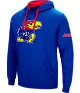 Men's Stadium Kansas Jayhawks College Big Logo Hoodie