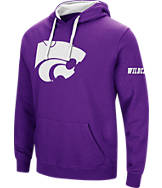 Men's Stadium Kansas State Wildcats College Big Logo Hoodie